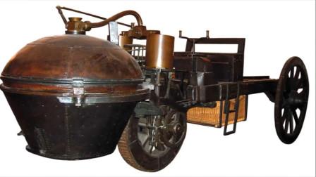 世界上第一辆汽车长7米,长的点丑,连发动机还是一个大铁蛋!
