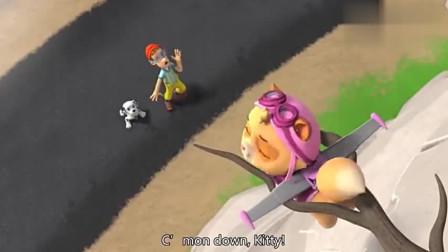 汪汪队:狗狗们在玩躲避球,大家都很厉害,可是任务就来了