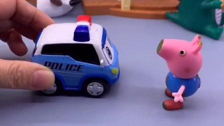 乔治等车回家,可是这些车他都不能坐,他能坐什么车呢?