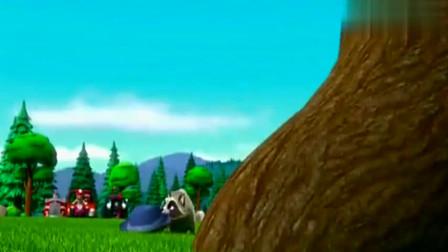 汪汪队:狗饼干如此诱人,小浣熊不为所动