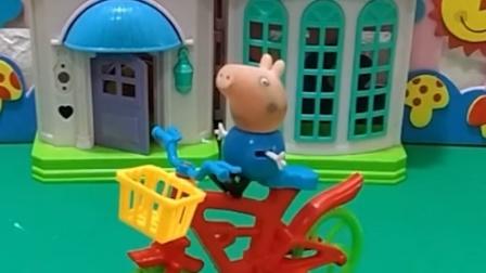乔治要去旅行,小鬼偷偷告诉佩奇,佩奇为什么要笑话乔治呢?