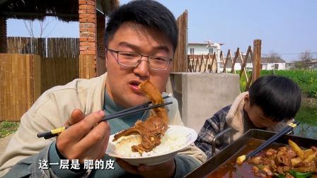 做一顿铁板肥羊,这一盘肉太过瘾了