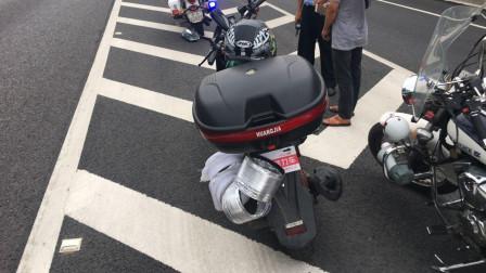 什么排量的摩托车才能上高速?究竟该走哪条车道,你知道吗?