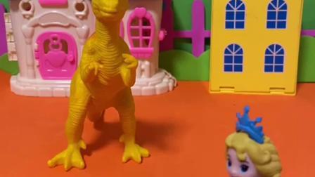 趣味玩具:有一只霸王龙在跟着佩奇