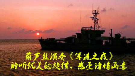 名曲欣赏:葫芦丝演奏《军港之夜》,聆听优美的旋律,感受诗的意境,画的色彩
