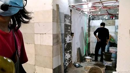 两天学会客餐厅墙面瓷砖铺贴培训课程