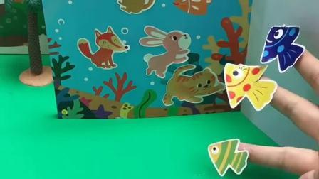 小鱼也在找家了,你能帮帮忙吗?