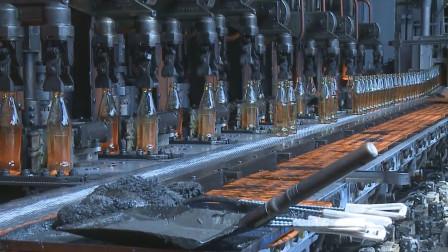 亚洲最大玻璃厂,每天生产数百万只玻璃瓶,根本停不下来机器!