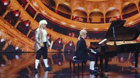 钢琴王子亮了全场,四手联弹太精彩,表现还不错