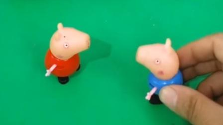 佩奇没钱买汉堡,要回家给乔治做,小朋友想吃佩奇做的汉堡吗?