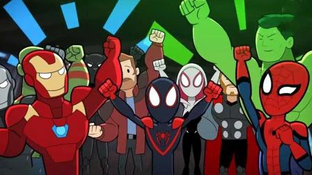 复联要来新队员,钢铁侠开迎新派对,结果一出场人都被吓晕了
