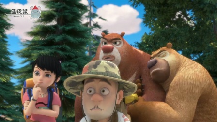 熊出没:众人遭遇水源危机!光头强缺水晕倒!