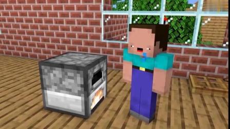 我的世界:同学往火炉扔东西,这是做什么呢?