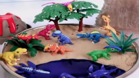 恐龙乐园:棘龙 肿头龙 甲龙 双脊龙 蛇颈龙 食肉牛龙 副栉龙