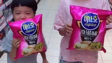 搞笑趣事:小朋友到底能吃什么呢