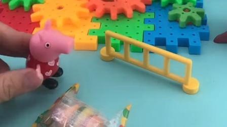 怪兽占领了游乐场,会向来游乐场的小朋友要糖果,真是太过分了