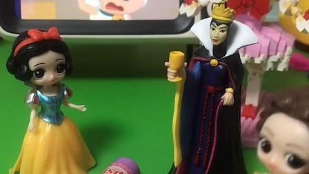 贝儿把自己东西都扔了,王后非常生气,不理贝儿了