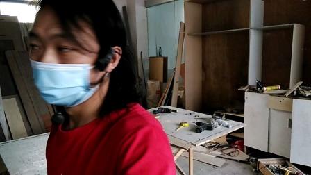 全国装修技术培训班,讲解做柜子技术方法教程,一对一教制作衣柜教程,广东省三角丘村木工培训基地