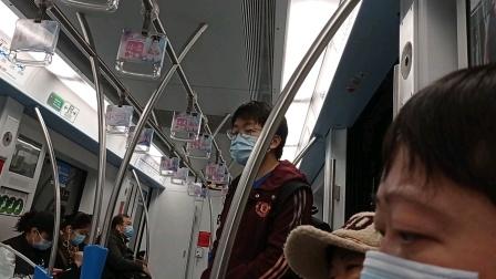 上海地铁8号线泥鳅二世曲阜路-人民广场