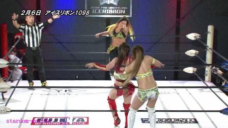 日本女子摔跤ICE RIBBON-2021.2.6赛事整理