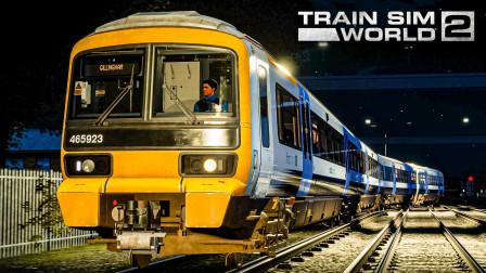 TSW2 英铁465/9型 #6:车库的同事们要加班了 回库途中挤岔出轨 | 模拟火车世界 2