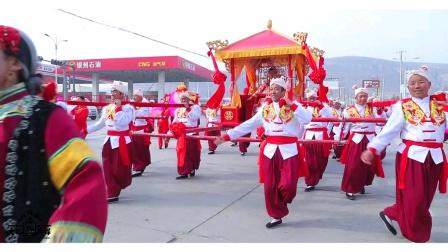 海盛文化传媒花轿队