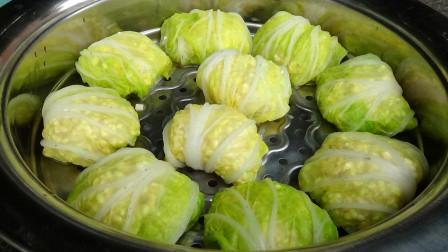 糯米白菜如此做,又香又营养,还能当饭吃,简单方便