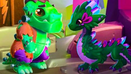 萌龙大乱斗:一只并不可怕的怪兽!科学怪龙