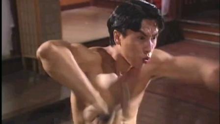 影视剪辑版《精武门》演员甄子丹。