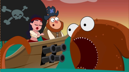救救海贼王第四期:秀逗海盗王拉着女友一起挑战章鱼哥