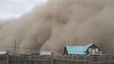 蒙古国特大沙尘暴6人死亡,80余人失踪!