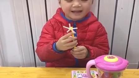 趣事的童年:用西瓜泡泡糖做一个风车糖