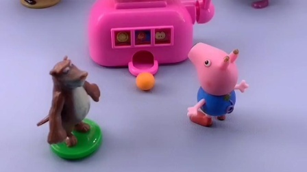 小鬼想吃糖,但是不知道怎么才能吃到,乔治前来帮忙