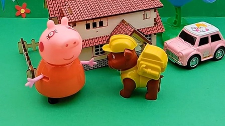 既然乔治不还车,小力决定找猪妈妈,猪妈妈果然有威信