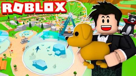 Roblox动物园大亨:建造超大动物园之星!猜猜会有什么动物呢!
