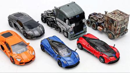 哨兵暗影袭击者振子汽车机器人玩具