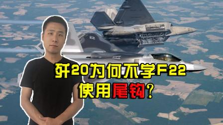同为第五代隐身战斗机,F22安装尾钩,歼20为何却并未使用?