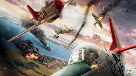 6.5分经典二战片,第一批黑人飞行员,特殊的轰炸机护卫队