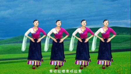广场舞《吉祥欢歌》民族特色,舒展大气,热情奔放