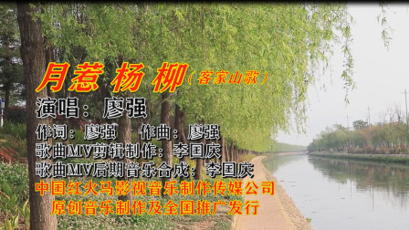 月惹杨柳(客家山歌网络版)广东著名客家歌手:廖强 演唱 歌曲MV制作:李国庆