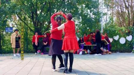 双人舞《北京的金山上》经典藏歌,传颂了一代又一代