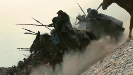 《鸿门宴》项羽真霸王也,被射了一箭,依然能取敌方上将的命!