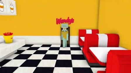 我的世界:章鱼哥来了,他要吃点什么呢?