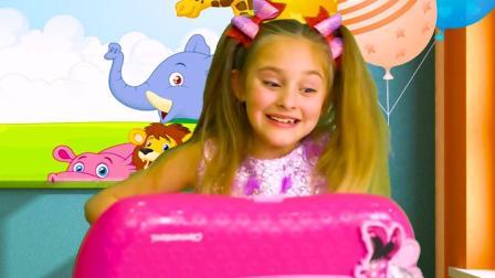萌宝小女孩的梦幻童年,像熊孩子一般的趣玩,还有爸爸的幸福陪伴