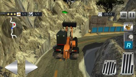 挖掘机工程车大卡车任务