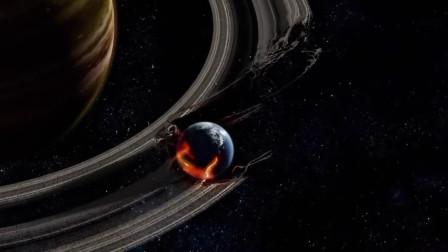 行星环中如果进去一个星球,会不会很壮观,会产生流星雨吗?