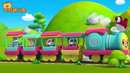 超级宝贝JOJO:坐上来呀坐上来,我们的火车就要开