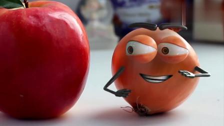 益智玩具:趣味动画,杯子和苹果
