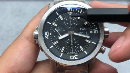 V6厂海洋时计系列IW376804黑面手表