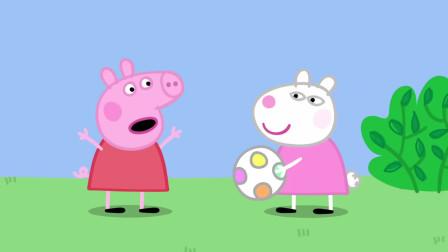 苏西和佩奇是好朋友,但她觉得佩奇的话太多了,像个话匣子
